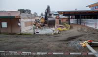 1375 B Bldg Demolition Day two 01162014