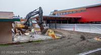 1383 B Bldg Demolition Day two 01162014