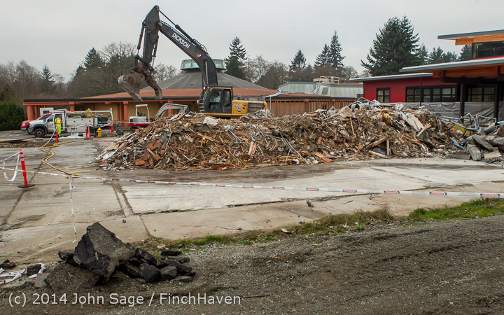 16737 B Bldg Demolition Day three 01172014