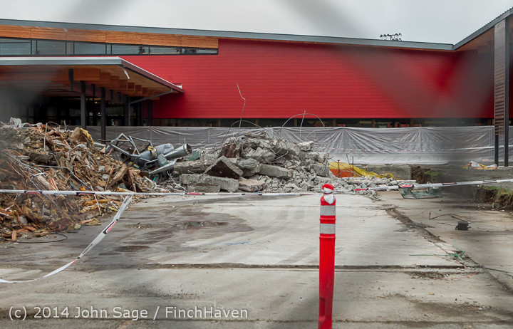 16769 B Bldg Demolition Day three 01172014