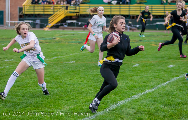 20140 the Powderpuff Game VHS Homecoming 2014 102414