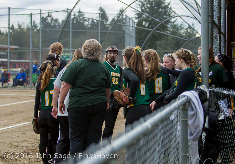 5001 Softball v Belle-Chr 032616