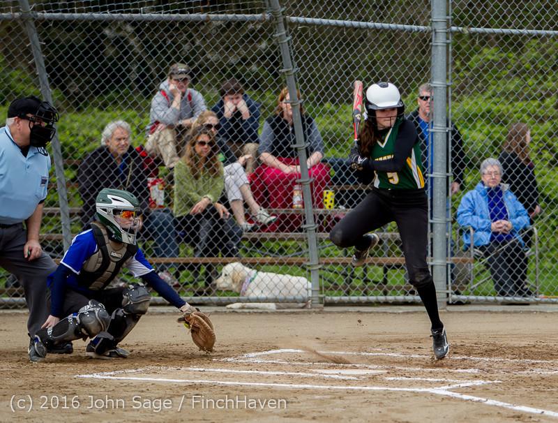 5091 Softball v Belle-Chr 032616