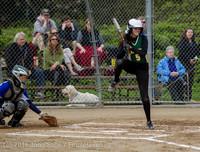 5110 Softball v Belle-Chr 032616