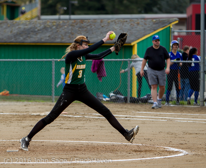 5141 Softball v Belle-Chr 032616