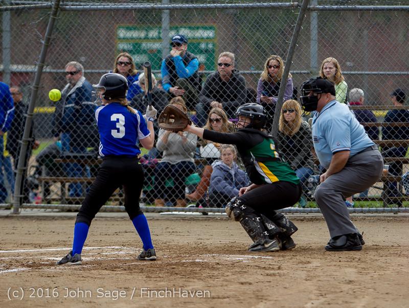 5236 Softball v Belle-Chr 032616