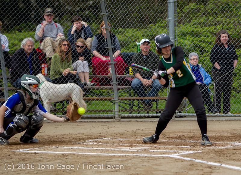 5254 Softball v Belle-Chr 032616