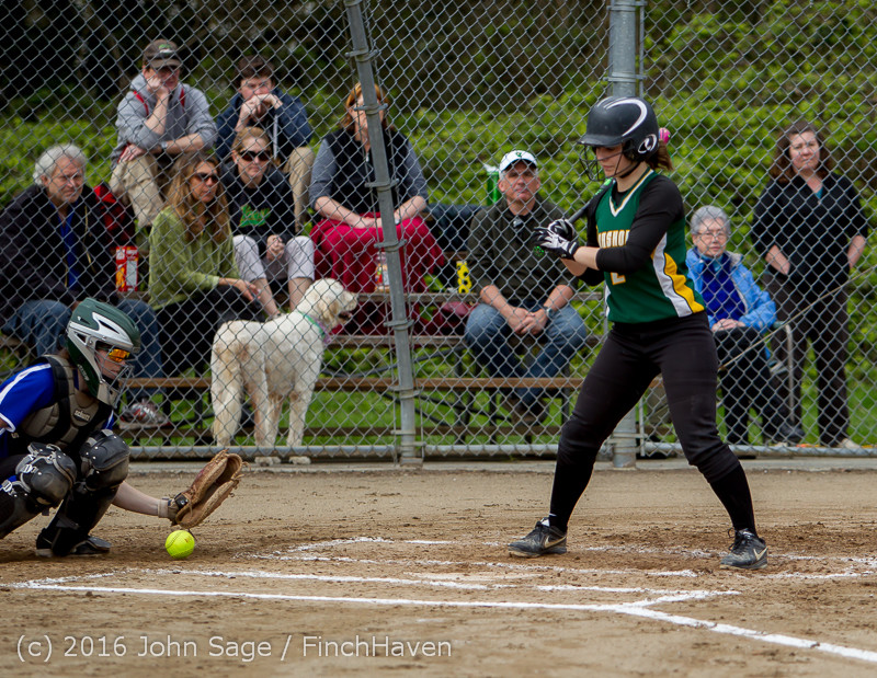 5264 Softball v Belle-Chr 032616