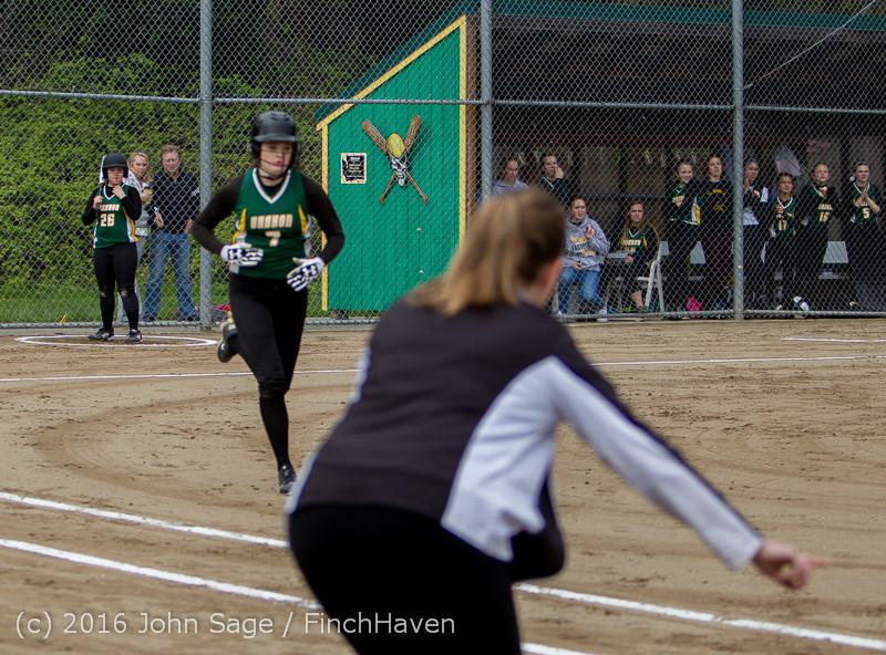 5287 Softball v Belle-Chr 032616