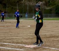 5306 Softball v Belle-Chr 032616
