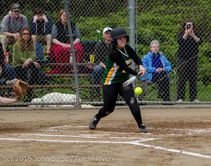 5324 Softball v Belle-Chr 032616
