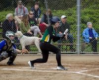 5395 Softball v Belle-Chr 032616