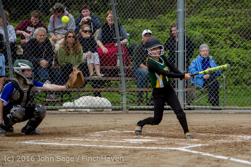 5447 Softball v Belle-Chr 032616