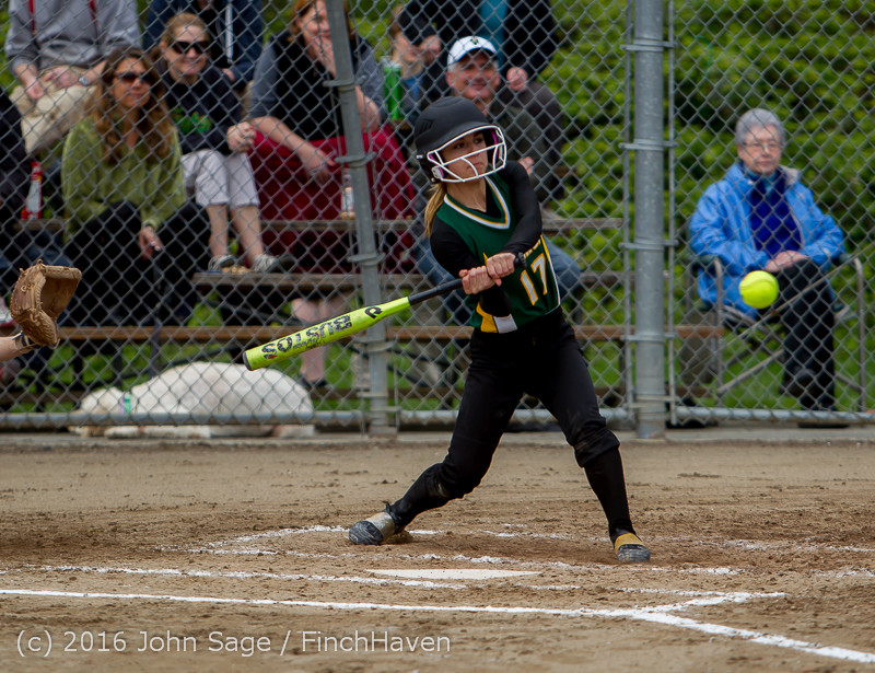 5469 Softball v Belle-Chr 032616