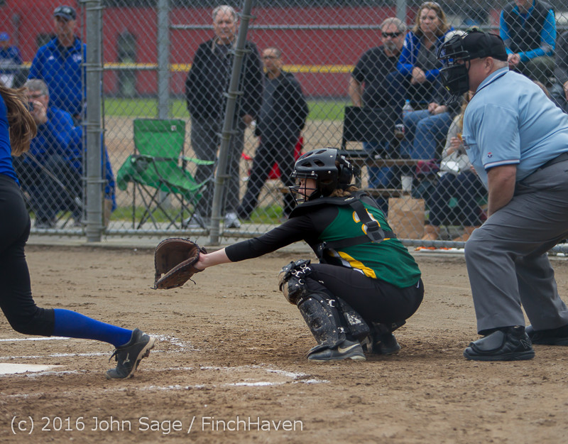 5630 Softball v Belle-Chr 032616