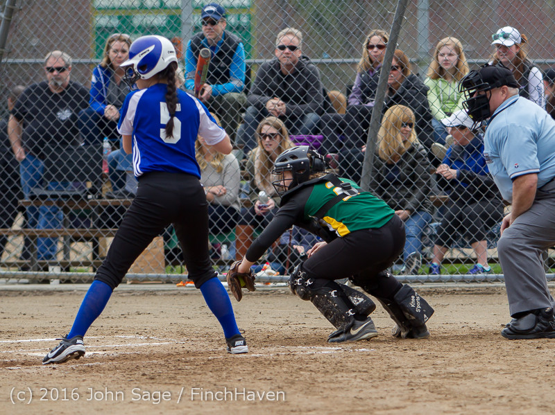 5710 Softball v Belle-Chr 032616