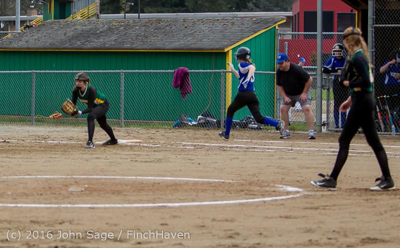 5745 Softball v Belle-Chr 032616