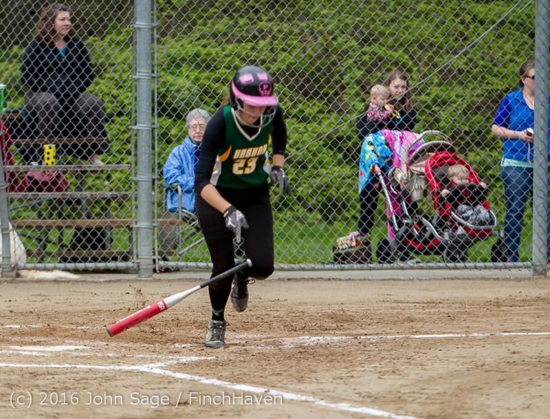 5764 Softball v Belle-Chr 032616