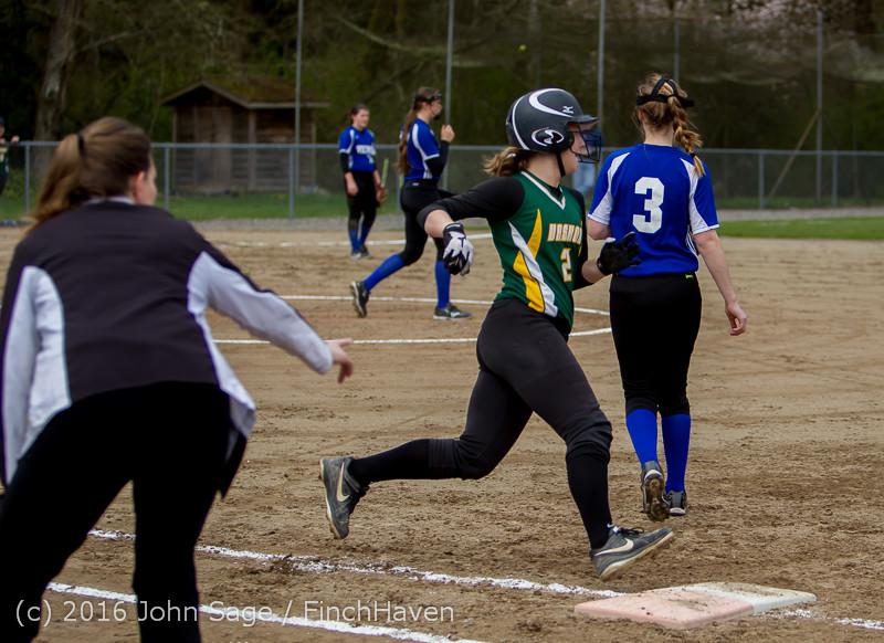 5810 Softball v Belle-Chr 032616