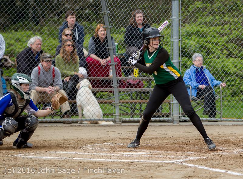 5825 Softball v Belle-Chr 032616