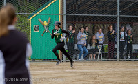 5911 Softball v Belle-Chr 032616