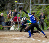 5960 Softball v Belle-Chr 032616