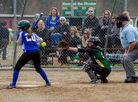 6103 Softball v Belle-Chr 032616