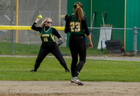 6132 Softball v Belle-Chr 032616