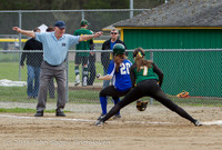 6143 Softball v Belle-Chr 032616
