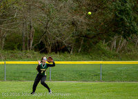 6155 Softball v Belle-Chr 032616
