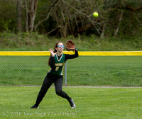 6156 Softball v Belle-Chr 032616