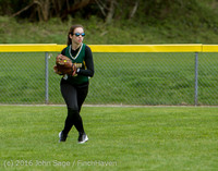 6160 Softball v Belle-Chr 032616