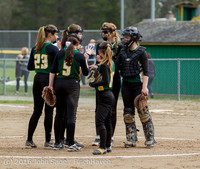 6172 Softball v Belle-Chr 032616