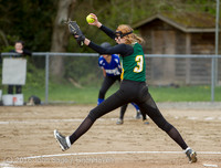 6199 Softball v Belle-Chr 032616