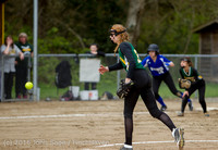 6202 Softball v Belle-Chr 032616