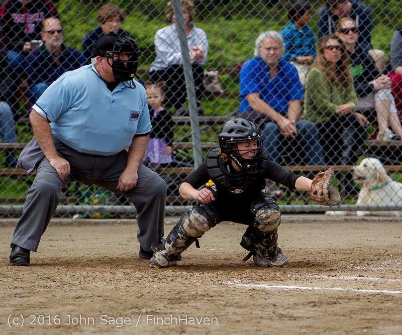 6208 Softball v Belle-Chr 032616