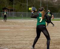 6217 Softball v Belle-Chr 032616
