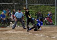 6226 Softball v Belle-Chr 032616
