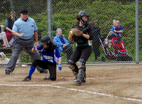 6231 Softball v Belle-Chr 032616