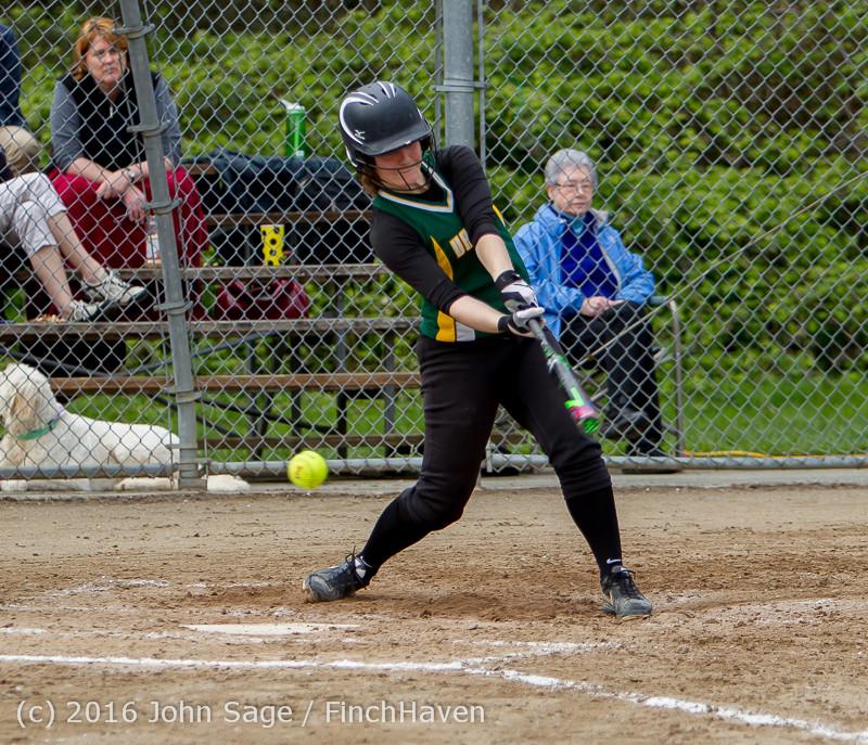 6342 Softball v Belle-Chr 032616