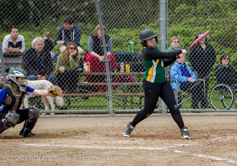 6712 Softball v Belle-Chr 032616