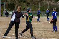 6742 Softball v Belle-Chr 032616