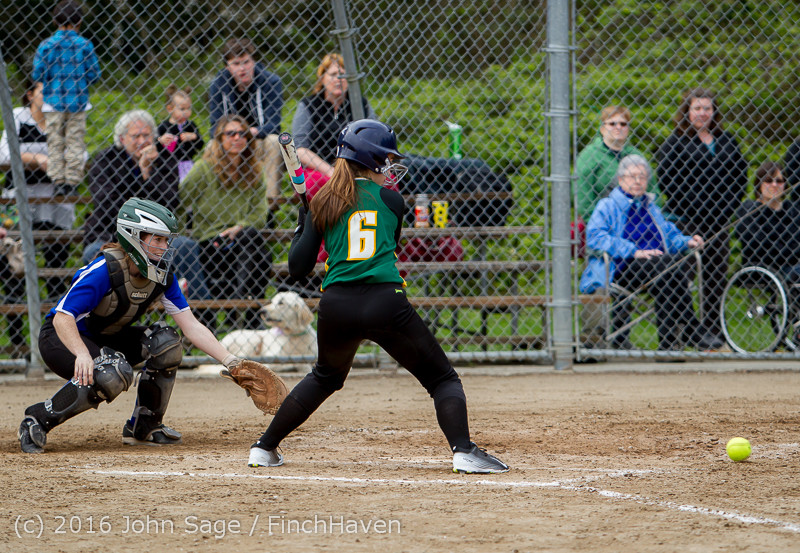 6787 Softball v Belle-Chr 032616