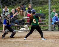 6797 Softball v Belle-Chr 032616