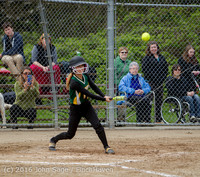 6820 Softball v Belle-Chr 032616