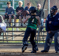 4225 Softball v Darrington 031815
