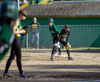 4250 Softball v Darrington 031815