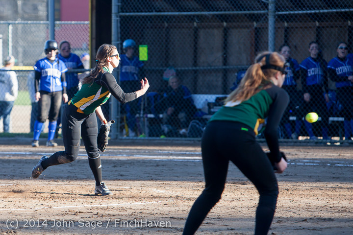 5592 Softball v Eatonville 032114