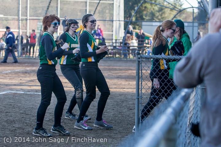 5632 Softball v Eatonville 032114