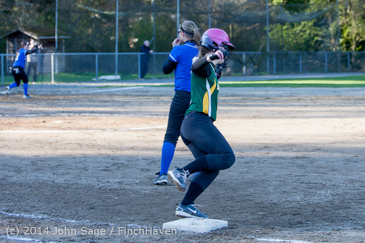 5649 Softball v Eatonville 032114